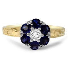 18K Yellow Gold The Janet Ring from Brilliant Earth