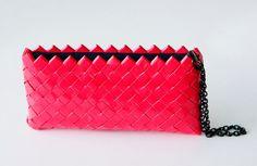 Vem eM handmade pink purse-handbag