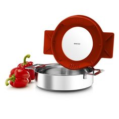 Eva Solo Gravity Cookware - Stainless Steel Diswasher Safe Saute Pan with Multifunctional Lid *** Quickly view this special  product, click the image : Saute Pans