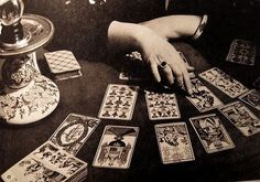 tarot readings, seeing and pretending