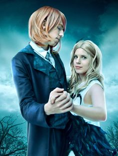 Harry Potter Fleur Delacour and Bill Weasley, cosplay