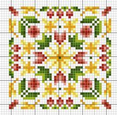 The Four Seasons - gazette94: free cross stitch pattern