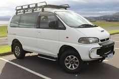 1996 Mitsubishi Delica White 4 Speed Automatic Van Derwent Park Glenorchy Area…