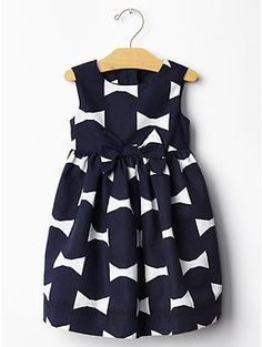 Kate Spade New York ♥ GapKids bow print dress - Visit unexpected places and imagine your way to holiday. Shop our limited time Kate Spade New York & JACK SPADE ♥ Gap collection of new favorites and perfect gifts. Dress to play.