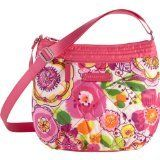 Women's Cross-Body Handbags - Vera Bradley Puffy Crossbody Clementine -- Click image to review more details.