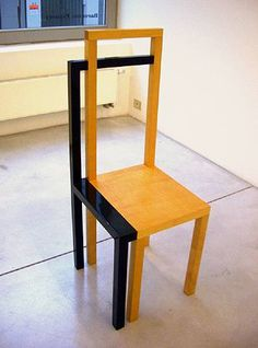 A Chair With A Shadow by Robert Wilson