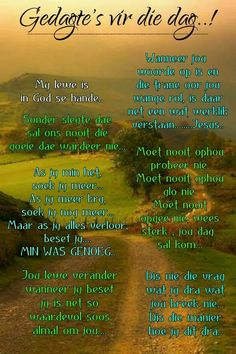 Good Morning Messages, Good Morning Wishes, Prayer Quotes, Bible Verses Quotes, Lekker Dag, Evening Greetings, Goeie More, Afrikaans Quotes, Heres To You