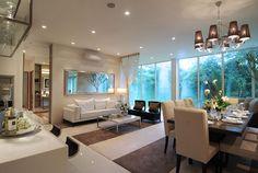 decor, house, and interior design image Condo Interior Design, Interior Design Singapore, Interior Exterior, Interior Decorating, Beautiful Home Designs, House Beautiful, Living Comedor, Luxury Decor, Luxury Interior