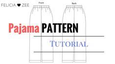 How To Make A Pajama Pants Pattern