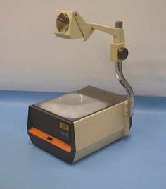 Overhead Projector...you always wanted to be the kid picked to fill out the sheet on here lol