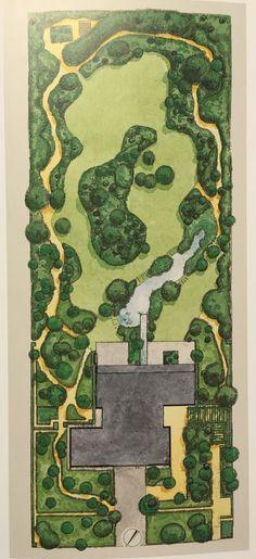 62 ideas for garden drawing architecture design Landscape Architecture Drawing, Landscape Design Plans, Landscape Sketch, Garden Design Plans, Landscape Drawings, Farm Layout, Garden Drawing, Parking Design, Garden Planning