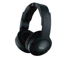 Sony MDRRF985RK Wireless RF Headphone, Black - Headphones Wireless Headphones For Running, Cheap Headphones, Best Noise Cancelling Headphones, Headphones For Sale, Bluetooth Headphones, Over Ear Headphones, Music Headphones, Noise Reduction Headphones, Hifi Audio