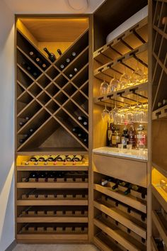 Under Stairs Wine Cellar, Wine Cellar Basement, Wine Cellar Racks, Wine Rack Storage, Wine Rack Wall, Wine Wall, Wine Shop Interior, Wine Furniture, Home Bar Rooms