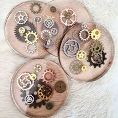 Home decor - pipe, resin, woodworking, custom, etc. Epoxy Resin Art, Diy Resin Art, Diy Resin Crafts, Resin Molds, Rock Crafts, Fun Crafts, Diy And Crafts, Arts And Crafts, Diy Projects That Sell Well