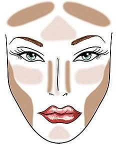 C-FABulous Makeup: How to Contour, Highlight and Apply blush. Instructions line by line