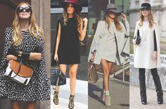 looks para se inspirar, inspiration , looks, outfits, style, street style, estilo, dress coat, vestido capa, fashion, moda