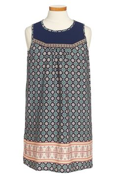 Monteau+Couture+Sleeveless+Shift+Dress+(Big+Girls)+available+at+#Nordstrom