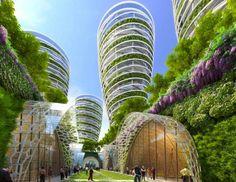 スマートシティ構想、未来のパリは緑にあふれる 2