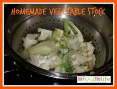 Easy Homemade Vegetable Stock Recipe by @fabfoodforlife. #glutenfree #allergyfriendly