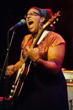 Brittany Howard of Alabama Shakes... She is bad ass. Girl has got some pipes, and her ability to leave her entire heart + soul on the stage is pure goosebumps!!