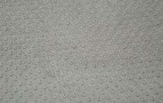 1 yard argent Shannon tissus tissu Minky par DuvetDarlingsSupply