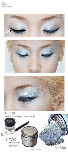 [How to] Glitter and Ice - The ice queen