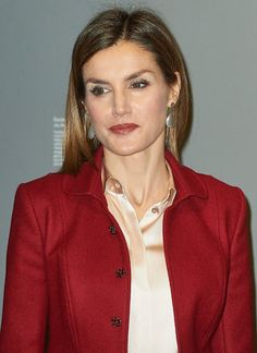 Queen Letizia attends the opening of the 'Ingres' Exhibition