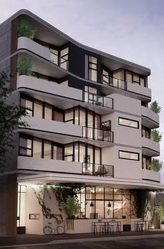Are you completely passionate about detail in architecture? You will certainly f… – Architecture is art Residential Building Design, Building Exterior, Building Facade, Facade Design, Exterior Design, Architecture Résidentielle, House Front Design, Design Hotel, Modern Buildings