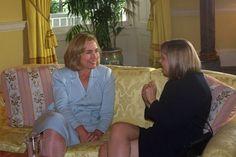 הילרי קלינטון ושרה נתניהו. 1996  Sept. 1996: Hillary always kept it classy in the WhiteHouse.