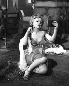 "Marilyn Monroe as Rose Loomis in ""Niagara"" (""Torrente de Paixão"", 1953). Film-Noir"