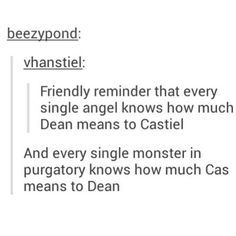 Everyone knows not to mess with deans angle