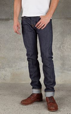Edwin ED-55 Relaxed Unwashed Red Selvage 14oz