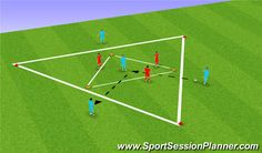 Football/Soccer Session Plan Drill (Colour): Screen 1 Discover a great training to improve your soccer skills. This helped me and also helped me coach others to be better soccer players Football Coaching Drills, Soccer Training Drills, Soccer Drills For Kids, Basketball Tricks, Basketball Is Life, Basketball Workouts, Soccer Practice, Soccer Skills, Soccer Tips