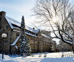 St. Olaf - in the top 30 most beautiful college campuses in America, according to Travel and Leisure. :)
