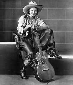 Country Western singer Patsy Montana -