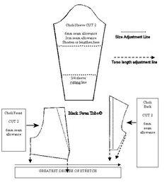 Tribal Belly Dance Choli Pattern