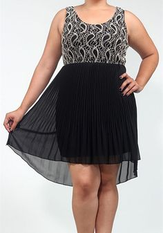 In the Night Dress: Plus Size, black/white : Spotted Moth, Chic and sweet clothing and accessories for women