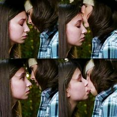 This was sweet... Until Carl ignored Enid completely and ditched her to go do something stupid!!!!