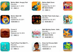 """Did you know that there are over 4000 """"maths"""" iPad apps? Check out this list of 16 cool and educational maths iPad apps Best Math Apps, Math Flash Cards, Teaching Math, Maths, Teaching Ideas, Math Concepts, Homeschool Math, Math Classroom, Science For Kids"""