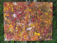 Jackson Pollock Painting Style