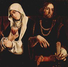 Lorenzo Lotto, Santi Caterina da Siena e Sigismondo, 1506-1508, Museo civico Villa Colloredo Mels, Recanati