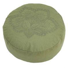 Meditatiekussen lotus olijfgroen