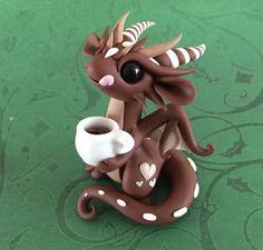 Little Mocha Dragon by Dragonsandbeasties