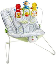 Buy Fisher-Price Babys Bouncer, Geo Meadow with big discount! Only 9 days. Get Fisher-Price Babys Bouncer, Geo Meadow with worldwide shipping now! Fisher Price, Baby Gym, Baby Play, Best Baby Bouncer, Colic Baby, Baby Rocker, Baby Bassinet, Baby Chair, Bouncers