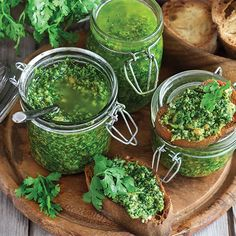 Cilantro and Pumpkin Seed Pesto Recipe - Food and Recipes - Mother Earth Living