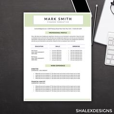 Artsy Resume Templates Professional Resume & Cover Letter  Simple Resume And