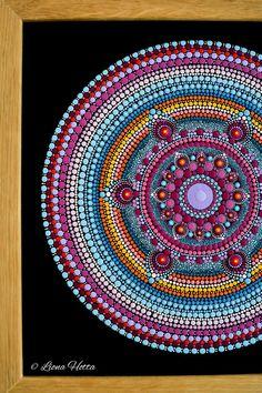 Dot Painting Tools, Dot Art Painting, Painting Canvas, Mandalas Painting, Mandala Drawing, Mandala Art, Mandala Pattern, Mandala Design, Mandala Canvas