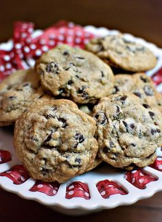 Kelly Luna: Kahlua Chocolate Chip Cookies, large recipe i would probably cut it in half.