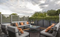 The Rooftop Terrace...
