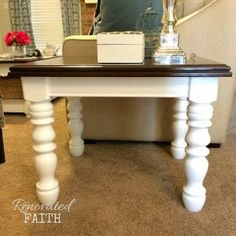 EASY Gel Stain Over Stain Technique (Also How to Gel Stain Over Paint!) Never use furniture stripper again! With this easy stain over stain technique, I share how to stain any surface and even how to gel stain over paint! Log Cabin Furniture, Western Furniture, Distressed Furniture, Refurbished Furniture, Repurposed Furniture, Rustic Furniture, Maple Furniture, Gel Stain Furniture, Furniture Projects